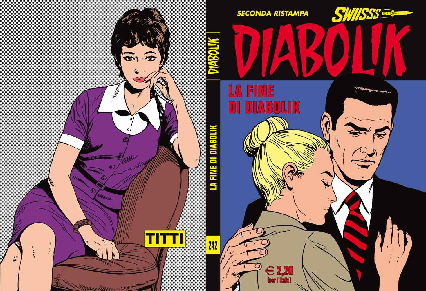 Fumetti ASTORINA SRL, Collana DIABOLIK SWIISSS
