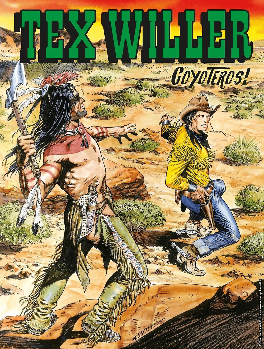 Nuova più recente nessuna tassa di vendita BONELLI EDITORE - TEX WILLER 6, Coyoteros!
