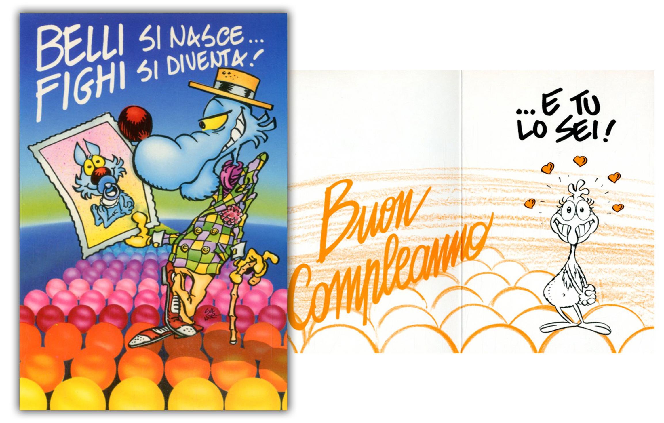 Biglietti Auguri Matrimonio Lupo Alberto : Cartoline biglietti poster biglietto lupo alberto