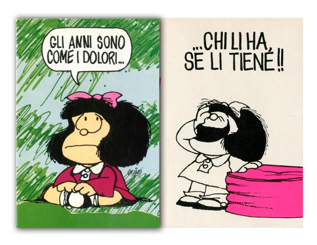 Cartoline Biglietti Poster Biglietti Mafalda 8 Buon Compleanno