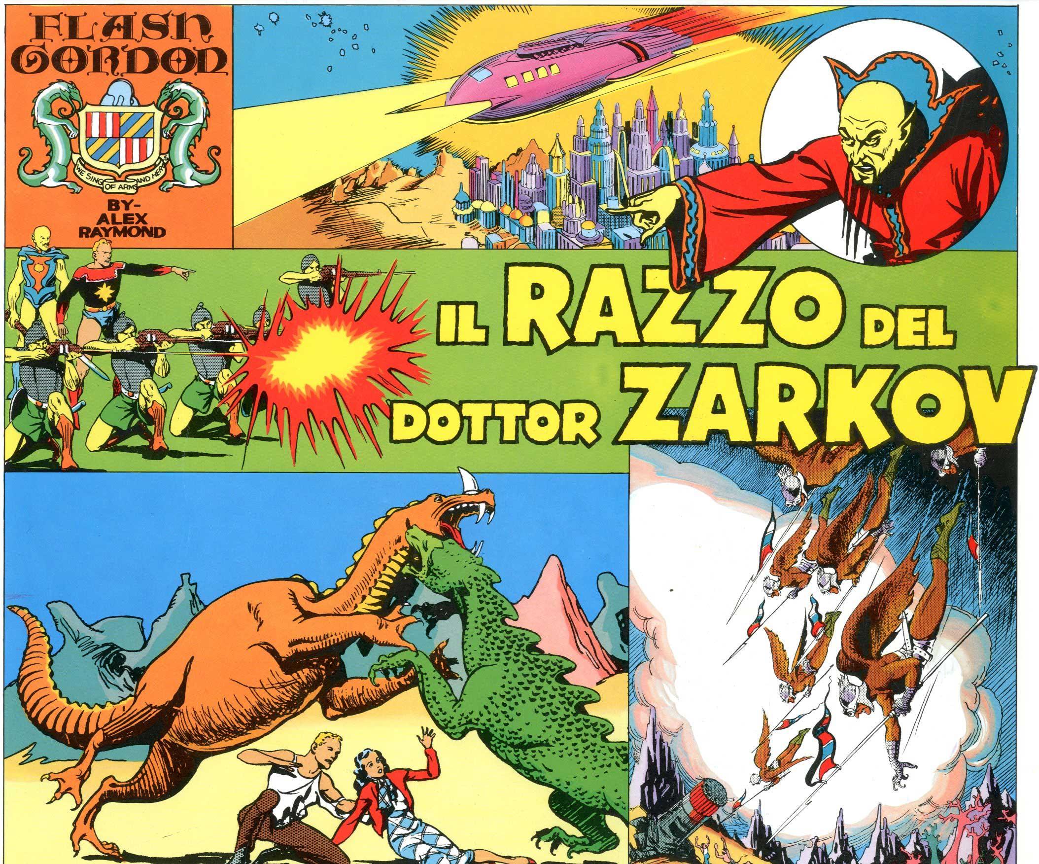 COMIC ART - FLASH GORDON 1, RAZZO DEL DOTTOR ZARKOV 1