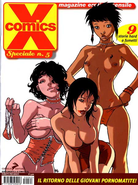 supereroi porno fumetti
