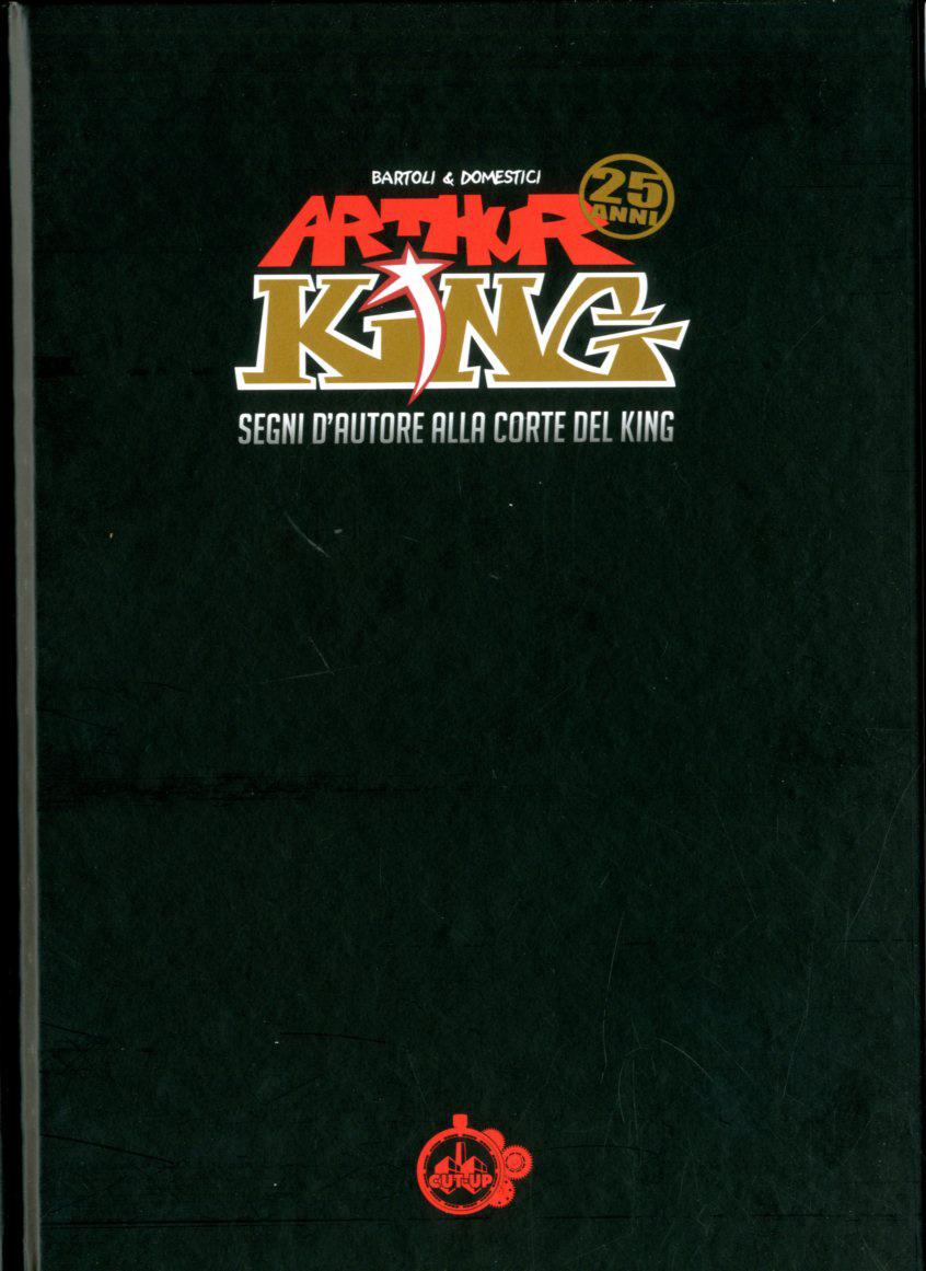 6f0c645f65726 Copertina ARTHUR KING n. - SEGNI D AUTORE ALLA CORTE DEL KING