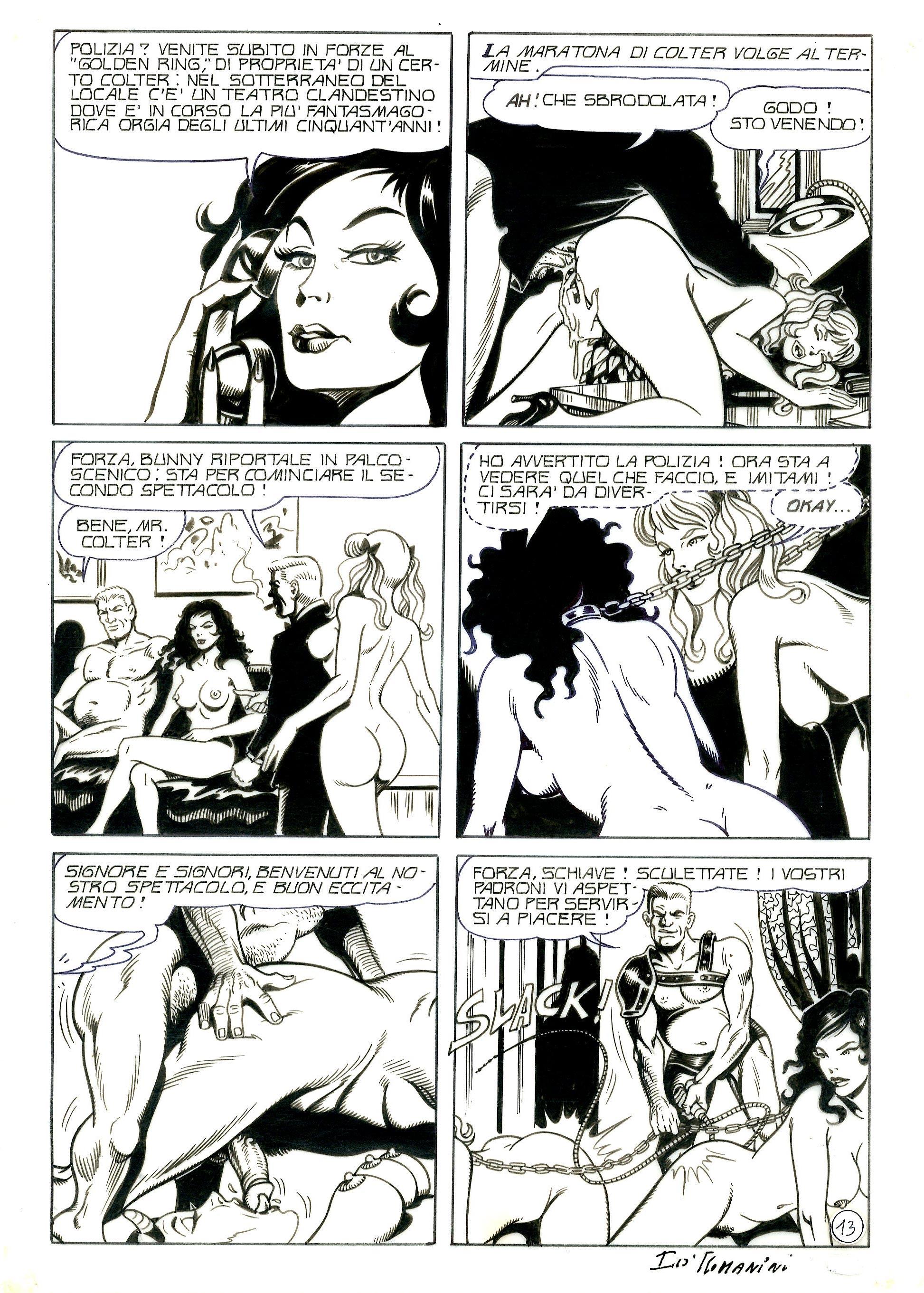 Cartoon nero porno fumetti