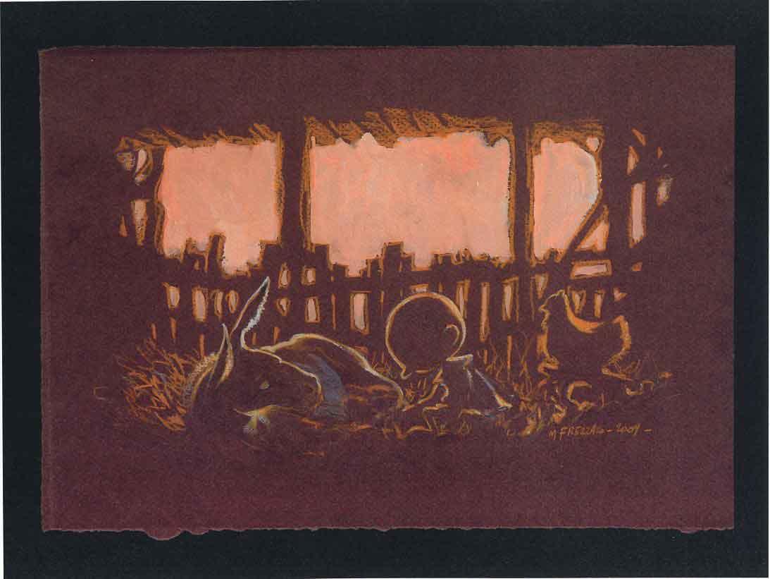Signora alla finestra romanticismo tedesco Panorama LW Caspar David Friedrich a1 017