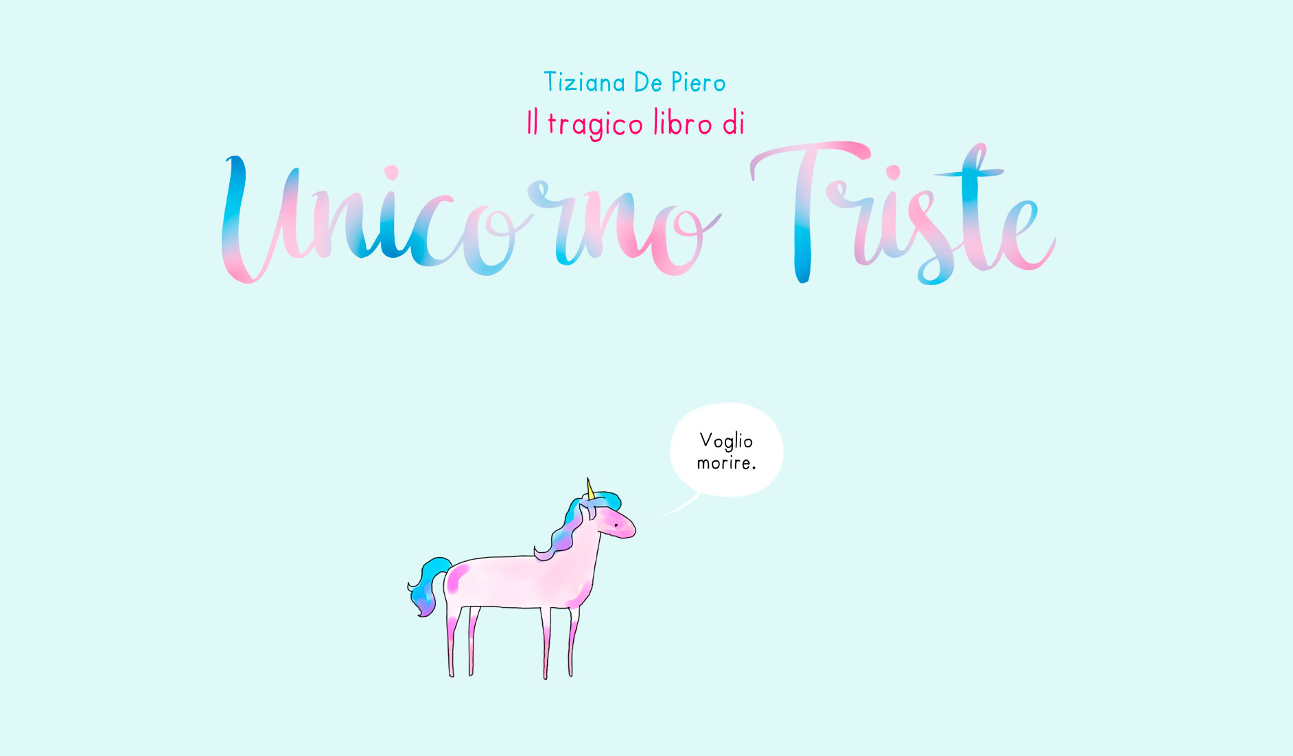 Prossime uscite fame associazione culturale cerca for Unicorno triste