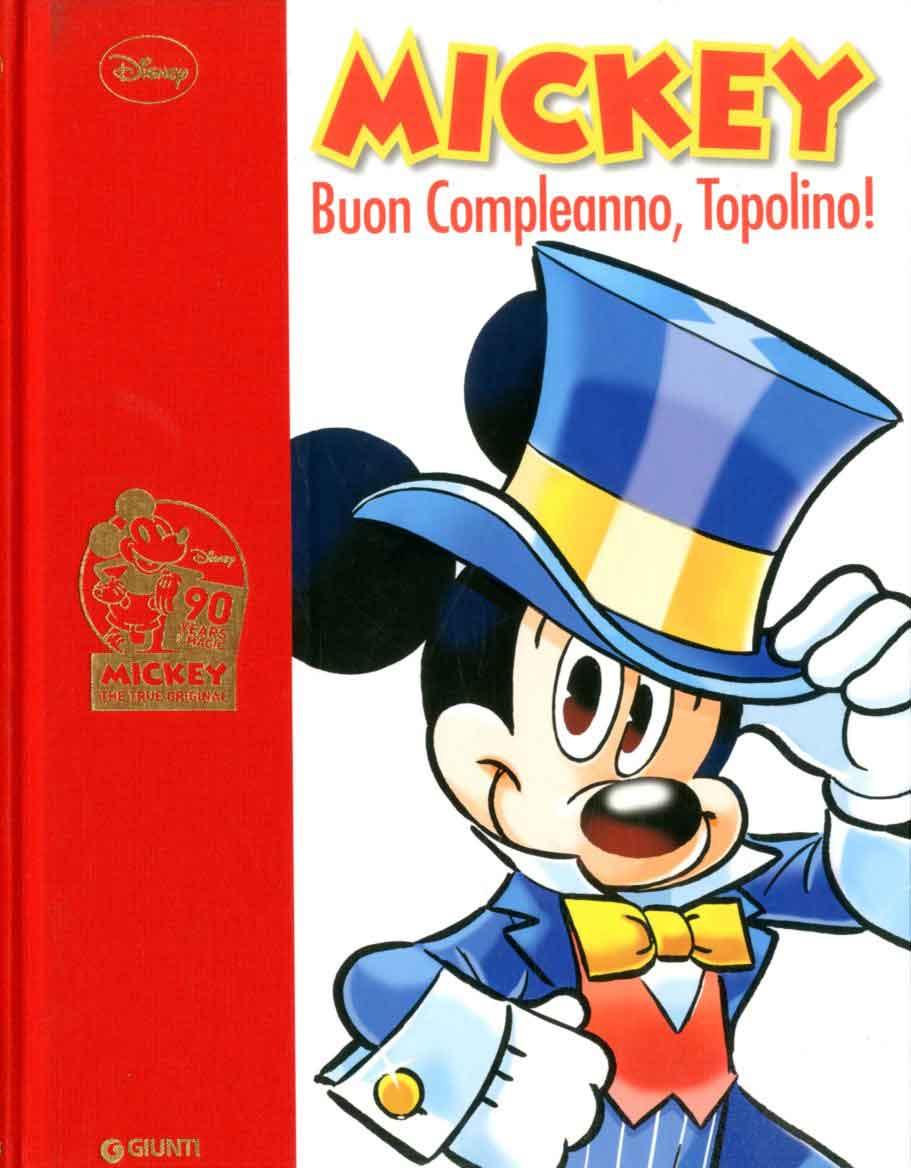 Giunti Disney Comics Collection 4 Mickey Buon Compleanno Topolino