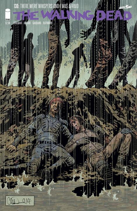 Risultati immagini per copertina numero 130, the walking dead