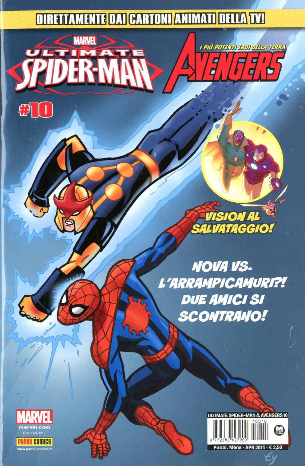 Marvel Italia Ultimate Spider Man Amp Avengers 10 border=
