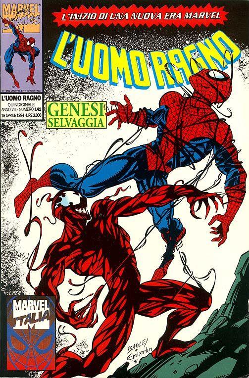 L`UOMO RAGNO Spider-Man  576 variant NUVOLOSO