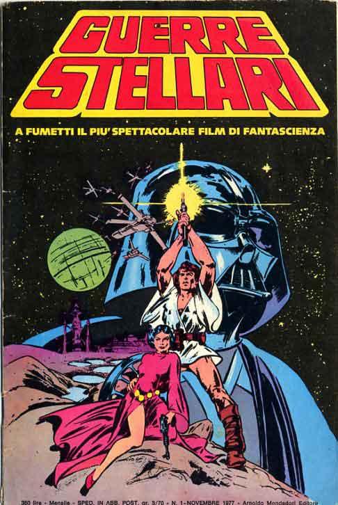 Copertina guerre stellari n.1 - guerre stellari 1, mondadori editore