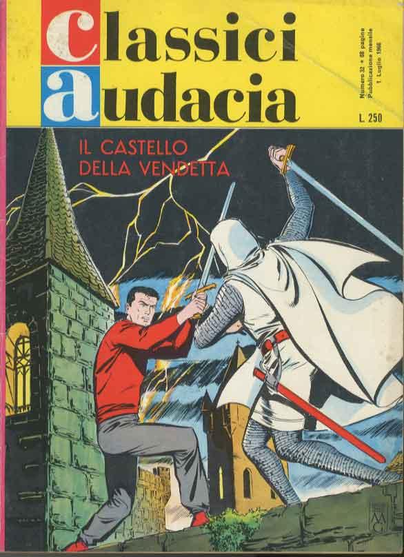 MONDADORI EDITORE - CLASSICI AUDACIA 32, MICHEL VAILLANT , IL CASTELLO  DELLA VENDETTA MV