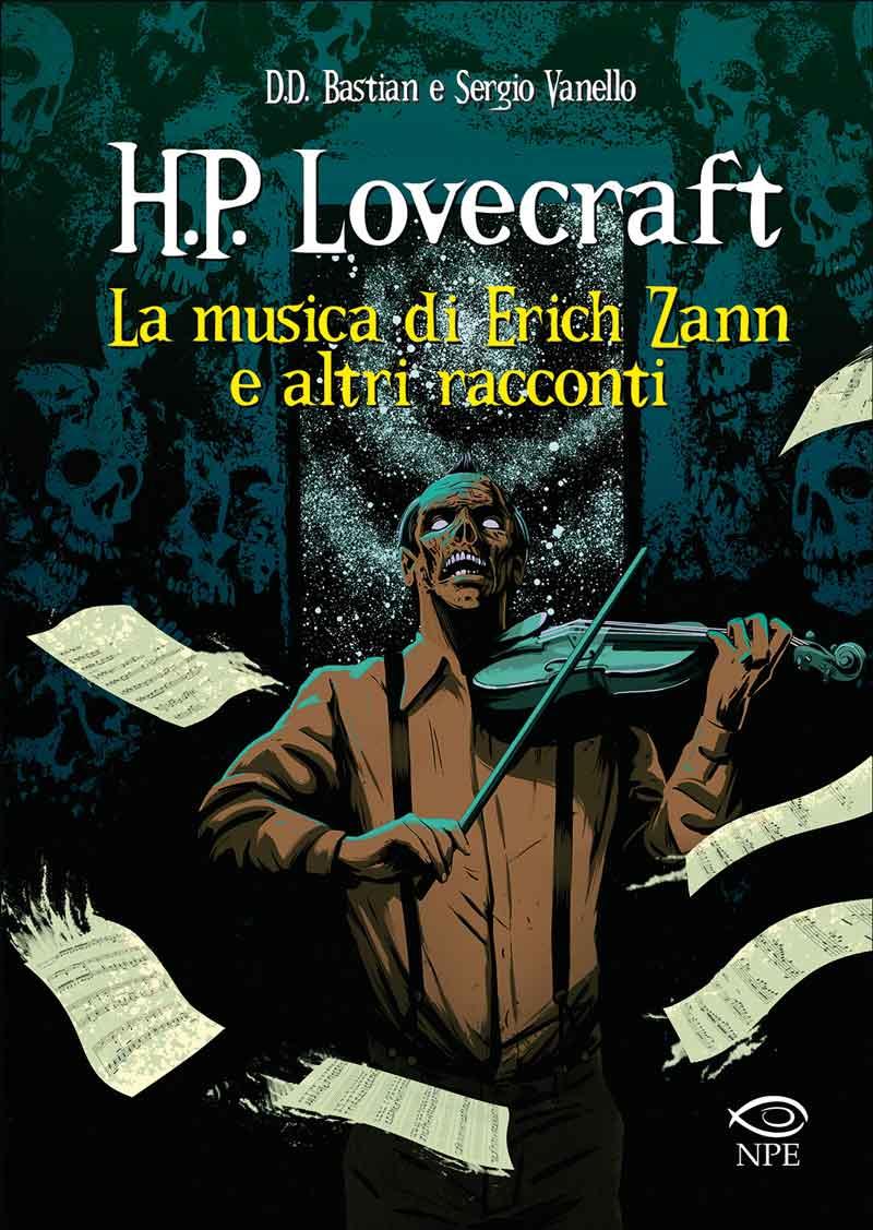 405793d01a Copertina H.P. LOVECRAFT LA MUSICA DI... n. - H.P. LOVECRAFT - LA