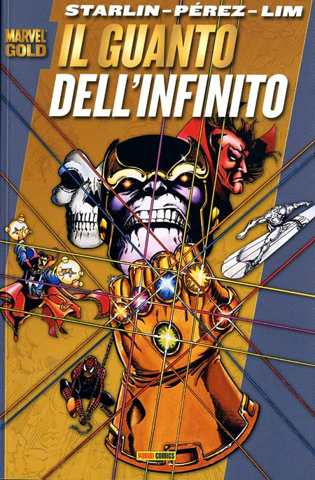 Marvel Gold: THANOS: LA SAGA DEL INFINITO: Numero 1,2,3,4 COMPLETA (Panini 2008)