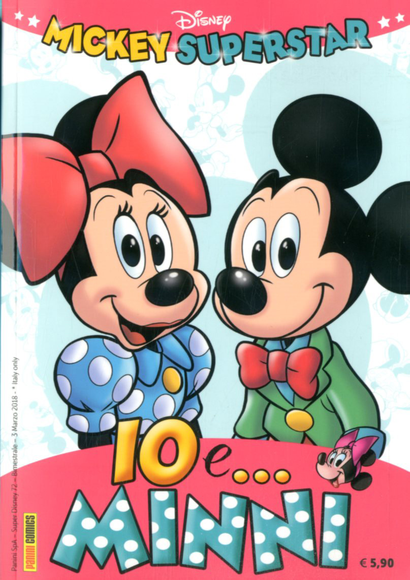 PANINI COMICS SUPER DISNEY 72, MICKEY SUPERSTAR , IO EMINNI