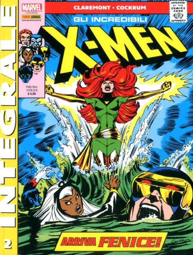 Panini Comics X Men Di Chris Claremont 2 Marvel Integrale Gli