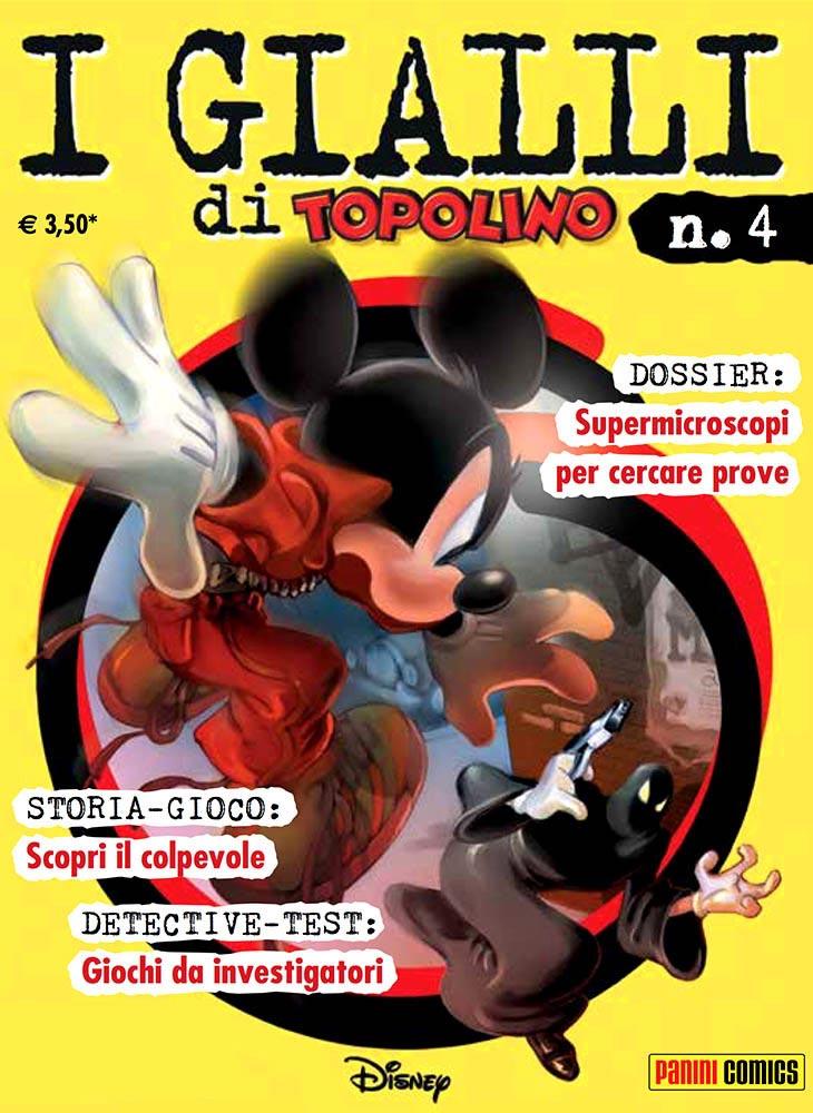 Panini Disney Gialli Di Topolino 4 I Gialli Di Topolino