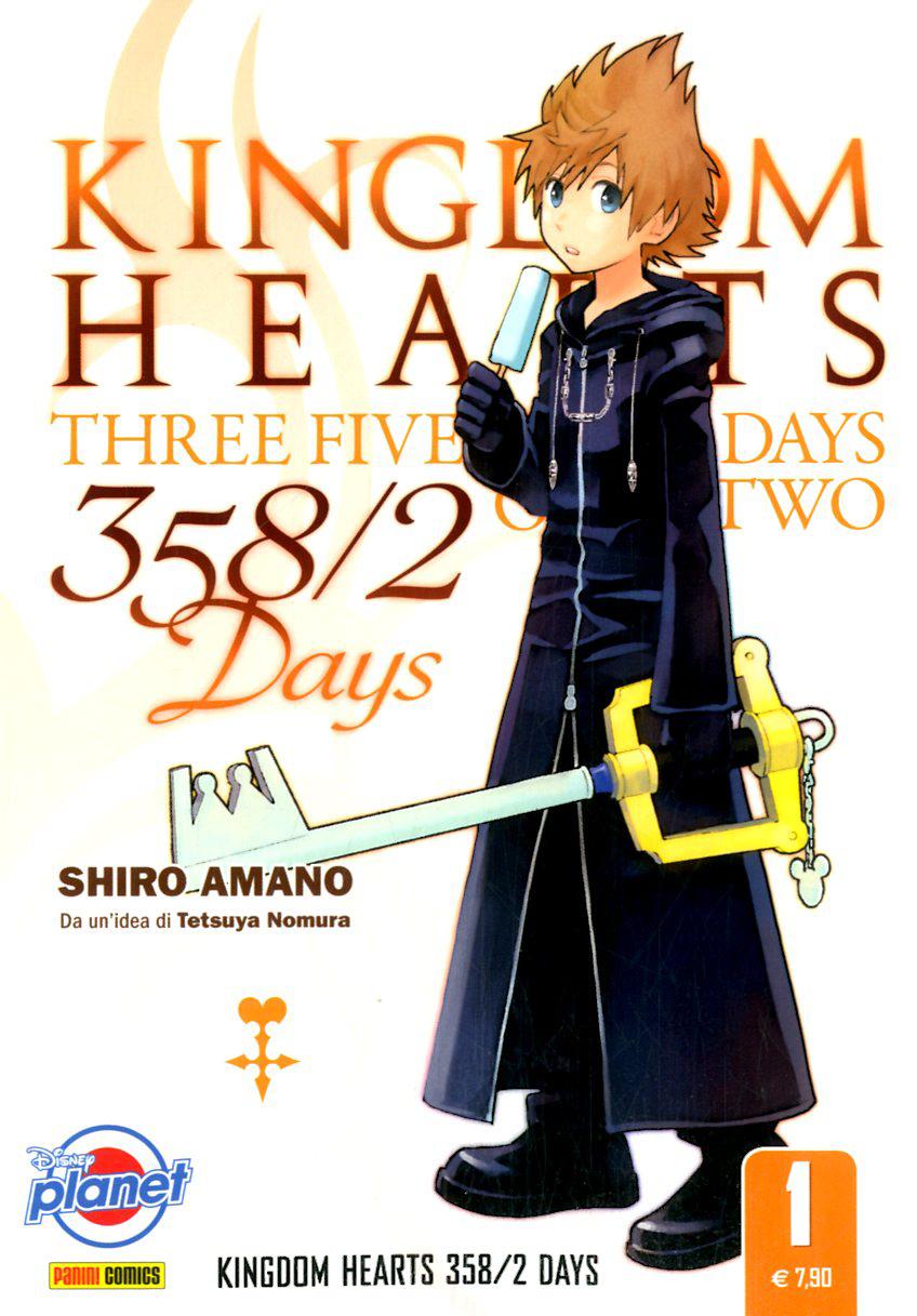 PLANET MANGA - KINGDOM HEARTS 358/2 DAYS (m5) 1, DISNEY PLANET 22