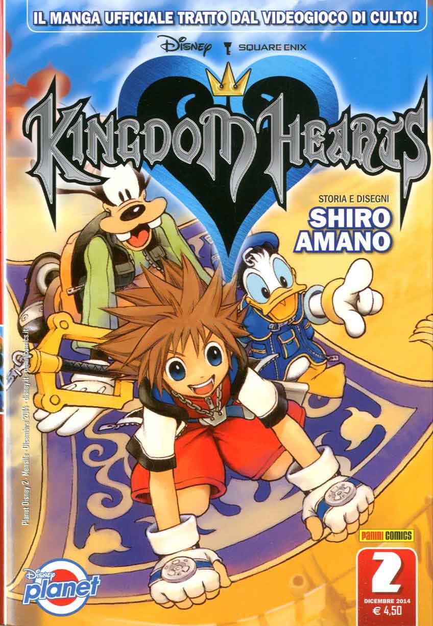 Risultati immagini per KINGDOM HEARTS SHIRO AMANO 0 FUMETTO
