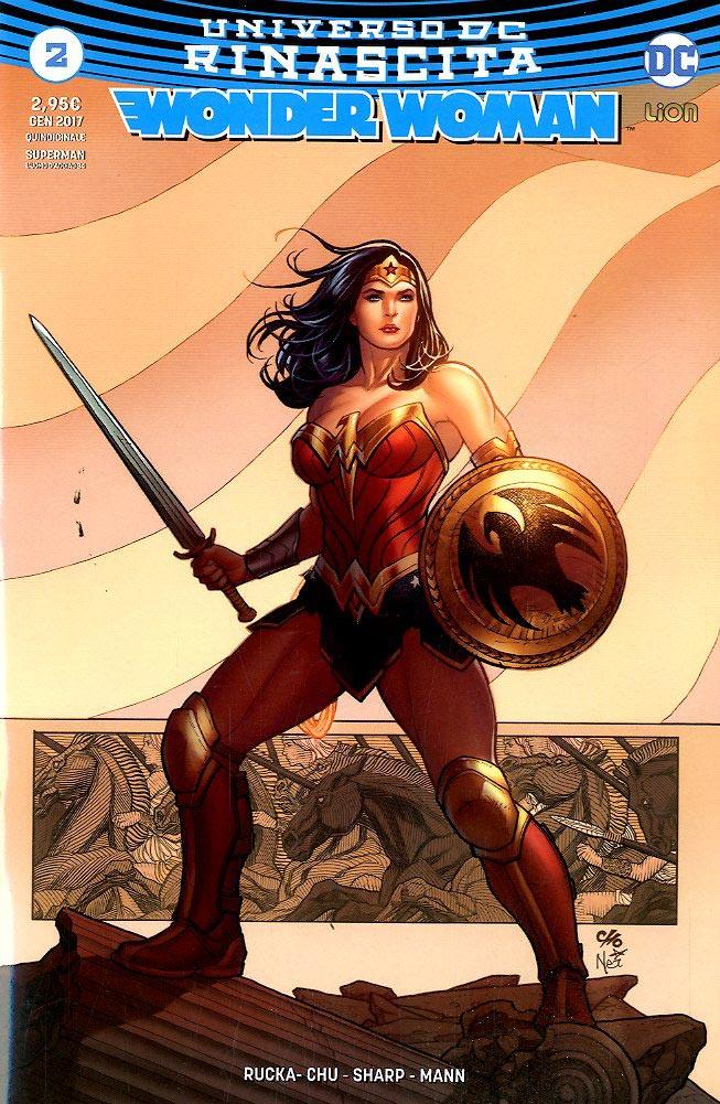 Wonder Woman rinascita numeri da 1 a 8