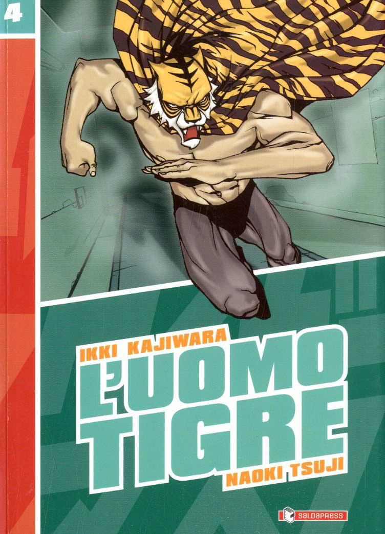 Fumetti saldapress collana uomo tigre