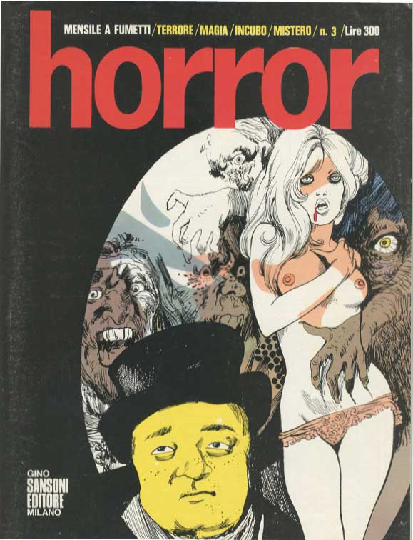 Horror comics - Wikipedia