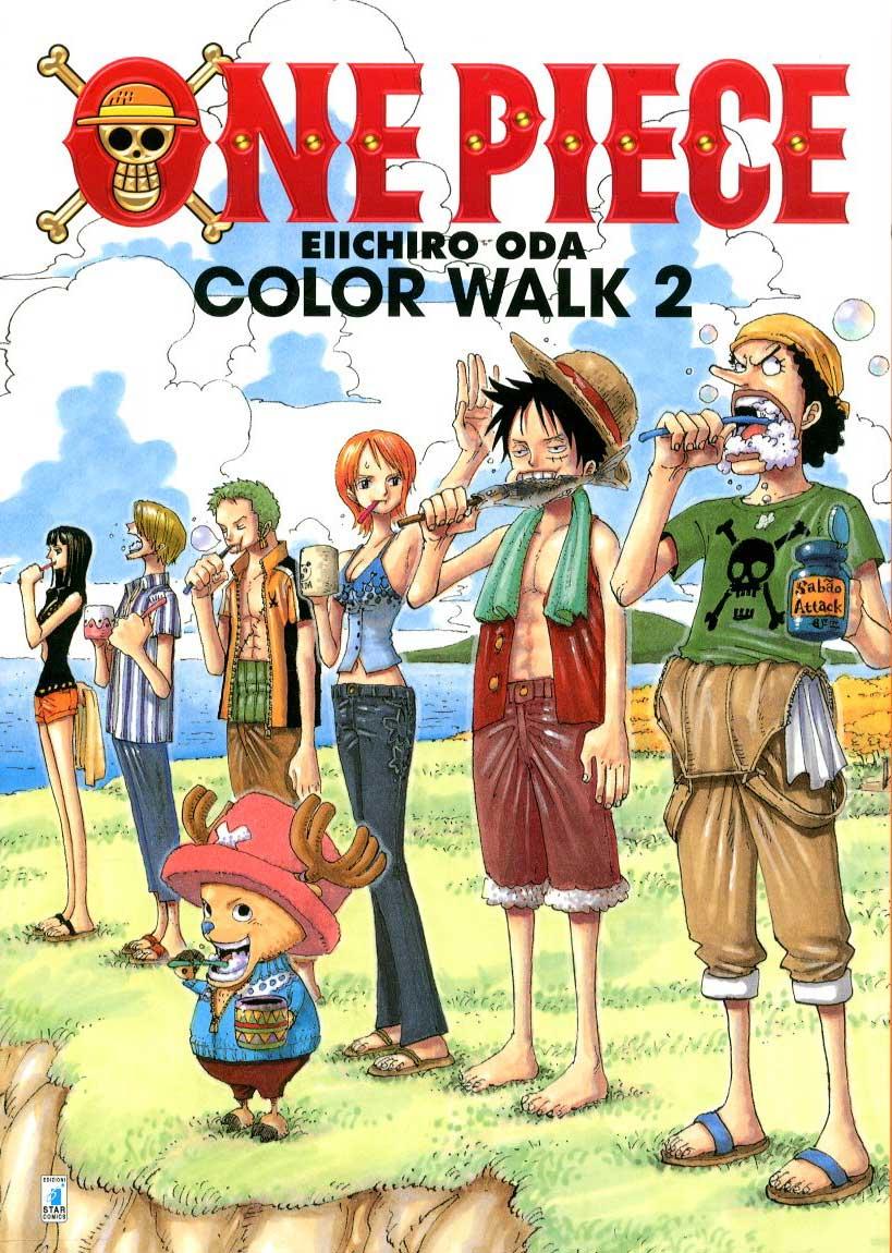 STAR COMICS - ONE PIECE COLOR WALK 2 e165a775fcb0