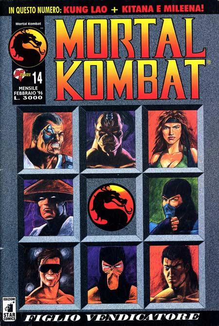 Mortal Kombat fumetti porno