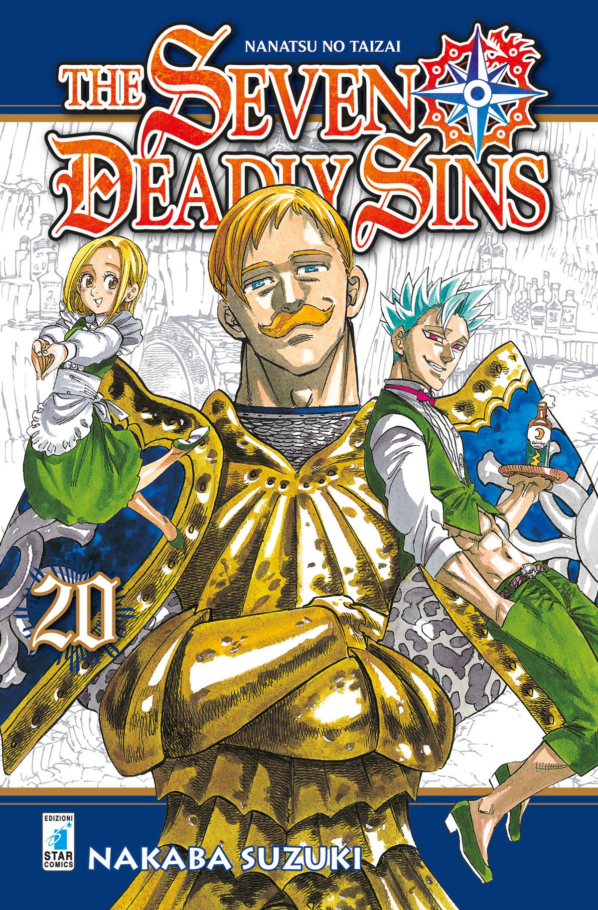 Risultati immagini per The seven deadly sins 20 Star comics