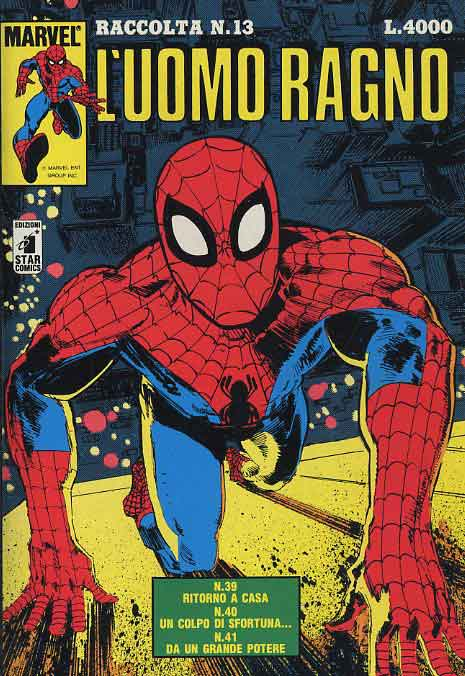 Star comics uomo ragno raccolta l