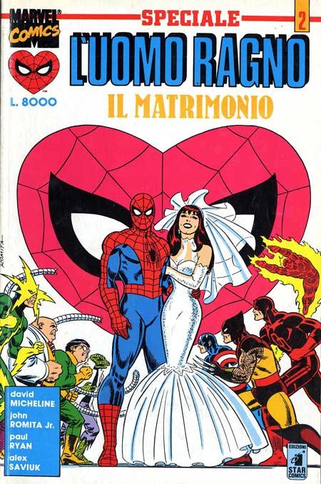 Il Matrimonio Dell Uomo Ragno : Fumetti star comics collana uomo ragno speciale