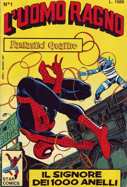Star comics uomo ragno