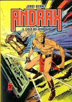 Copertina ANDRAX L'INTEGRALE (m3) n.1 - IL CICLO DEL RISVEGLIO, 001 EDIZIONI