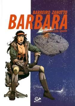 Copertina BARBARA n.3 - SECONDO CICLO - SPAZIO, 001 EDIZIONI