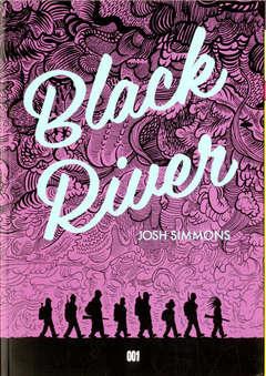 Copertina BLACK RIVER n. - BLACK RIVER, 001 EDIZIONI