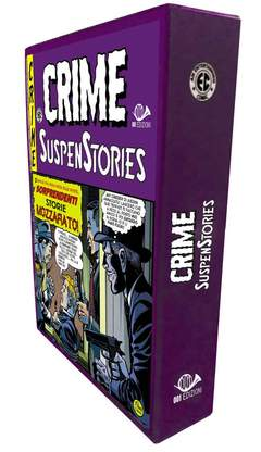 Copertina CRIME SUSPENSTORIES #5 + Cof. n.0 - CRIME SUSPENSTORIES #5 + Cofanetto, 001 EDIZIONI