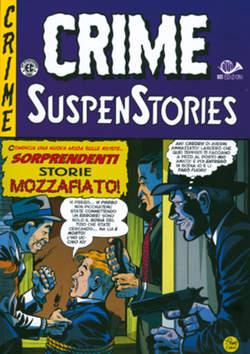 Copertina CRIME SUSPENSTORIES (m5) n.1 - LA DOPPIA CROCE DELLA MORTE, 001 EDIZIONI