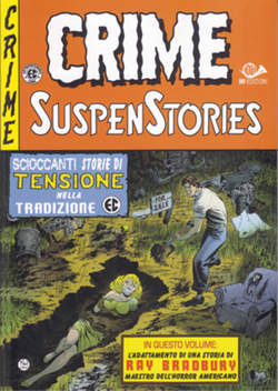 Copertina CRIME SUSPENSTORIES (m5) n.3 - CRIME SUSPENSTORIES, 001 EDIZIONI