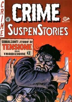 Copertina CRIME SUSPENSTORIES (m5) n.4 - TRAPPOLA ATOMICA!, 001 EDIZIONI