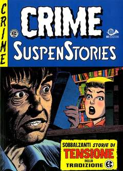 Copertina CRIME SUSPENSTORIES (m5) n.5 - CRIME SUSPENSTORIES, 001 EDIZIONI