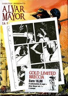 Copertina ENRIQUE BRECCIA GOLD LIMITED n.0 - IL COLLEZIONISTA DI SOGNI/ALVAR MAYOR 1 + 2 Stampe, 001 EDIZIONI