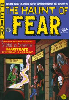 Copertina HAUNT OF FEAR (m5) n.1 - IL RITORNO DELLA MUMMIA, 001 EDIZIONI