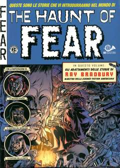 Copertina HAUNT OF FEAR (m5) n.4 - IL TRENO DEL TERRORE, 001 EDIZIONI