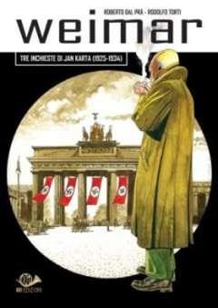 Copertina JAN KARTA n.1 - WEIMAR-TRE INCHIESTE DI JAN KARTA (1925-1934), 001 EDIZIONI