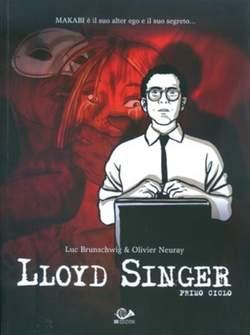 Copertina LLOYD SINGER n.1 - PRIMO CICLO, 001 EDIZIONI