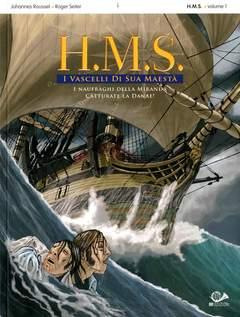 Copertina H.M.S. I VASCELLI DI...(m3) n.1 - H.M.S. I VASCELLI DI SUA MAESTA', 001 EDIZIONI