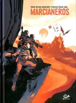 Copertina MARCIANEROS Limited n. - MARCIANEROS - Limited GIGI CAVENAGO, 001 EDIZIONI