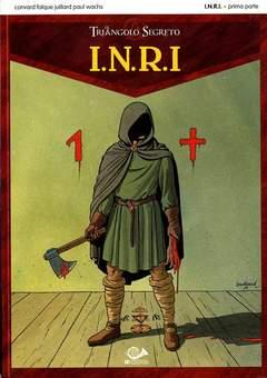 Copertina I.N.R.I. (m2) n.1 - IL TRIANGOLO SEGRETO - II STAGIONE, 001 EDIZIONI