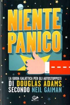 Copertina NIENTE PANICO n.0 - DOUGLAS ADAMS E GUIDA GALATTICA PER AUTOSTOPPISTI, 001 EDIZIONI