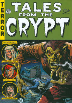Copertina TALES FROM THE CRYPT M6 n.4 - BIBLIOTECA EC COMICS, 001 EDIZIONI